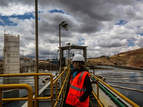 A Newmont mine in Peru. A wave of investors raised concerns that the price tag for the Goldcorp acquisition — a nearly all-stock deal in which Goldcorp shareholders would receive 35 per cent of the combined company — is too high and dilutive to Newmont shareholders.