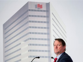 National Bank CEO Louis Vachon says the job market in Canada remains positive.