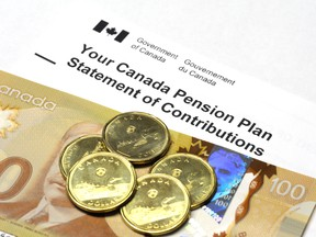 Albertans contribute disproportionately more to national programs such as the CPP.