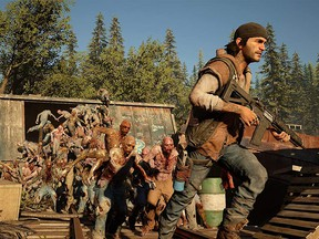 """Bend Studio's Days Gone is a post-apocalypse open-world action game set a couple of years after most humans were infected with a virus that transformed them into mindless, bloodthirsty monsters known as """"freaks."""""""