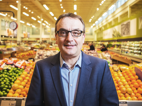 """Uwe Stueckmann, Loblaw's senior vice president of marketing. """"When you see that ad, you'll get some points. You don't have to do anything."""""""