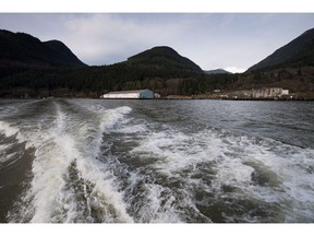 The developer of the proposed Woodfibre LNG project on the West Coast is buying a private Calgary oil and gas producer. The Woodfibre LNG project site is seen on the waters of Howe Sound near Squamish, B.C., on Friday, Nov. 4, 2016.