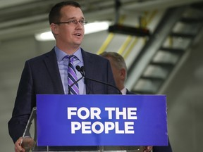 Infrastructure Minister Monte McNaughton