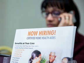U.S. hiring topped forecasts in April.