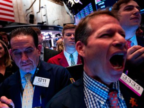 At the center of today's selloff are shares of technology companies including chipmakers, manufacturing giants and retailers that are exposed to China.