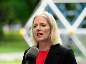 Minister of Environment and Climate Change, Catherine McKenna in Ottawa on June 25.