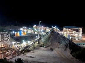 Agnico-Eagle's Pinos Altos crusher and mill in northern Mexico.