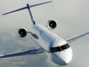 """Bombardier Inc said in January is exploring """"all strategic options"""" for the CRJ program including a potential sale."""