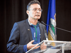 """Calvin Helin, Eagle Spirit Energy president and chair: """"We're starting the first process under the new process that we don't know a lot about."""""""