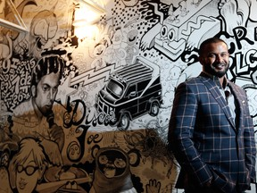 Dax Dasilva, CEO of LightSpeed in their Montreal offices.
