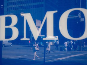 BMO set aside $306 million for credit losses, up from $186 million, a year ago.