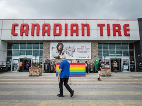 A Canadian Tire store in Toronto.