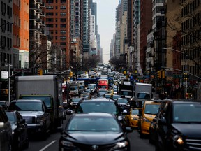New York City earlier this year became the first in North America to approve congestion pricing.