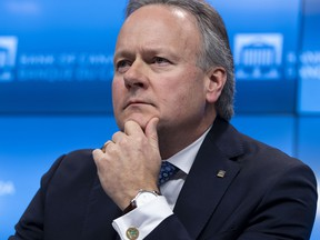 Bank of Canada Governor Stephen Poloz. The central bank is in a difficult position with inverting yield curves and a global economic slowdown made worse by the U.S-China trade war.