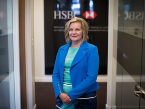 Sandra Stuart, president and chief executive officer of HSBC Bank Canada in 2017.