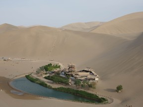 Desertification — the degradation of dry land to the point where it can support little life — is a growing problem.