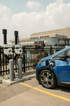 An electric test vehicle at GM's Canadian Technical Centre in Markham, Ont. CEO Mary Barra is betting the automaker's future on electric and autonomous vehicles.