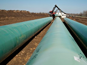 TC Energy, formerly known as TransCanada, has been investing heavily in the disputed 830,000 barrel per day (bpd) Keystone XL pipeline, which is expected to boost export volumes from the oil marketing hub of Alberta to U.S. refineries.