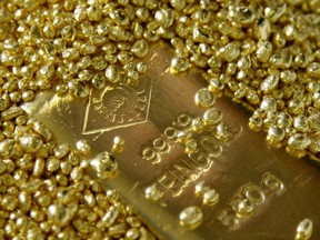 Spot gold — which last traded at about US$1,467 an ounce — is up 14 per cent so far this year, on course for the third annual gain in the past four years.