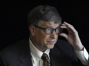 Bill Gates, 64, has a net worth of US$113.7 billion, according to the Bloomberg Billionaires Index, a ranking of the world's 500 richest people.