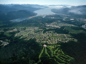 The development is part of the Coastal GasLink pipeline route to a liquefied natural gas project in Kitimat, B.C.