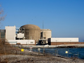 The Pickering Nuclear Generating Station in PIckering, Ont.