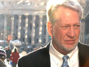 Former WorldCom Inc. executive Bernie Ebbers arrives at the federal building to turn himself in to federal authorities after the U.S. government charged him with masterminding an accounting fraud that led to the largest bankruptcy in U.S. history on March 3, 2004 in New York City.