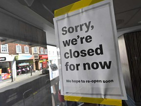 Almost seven million to date, more than a third of the number of Canadians who had a job in mid-March have filed for the Canada Emergency Response Benefit as stores and restaurants close in coronavirus shutdowns.