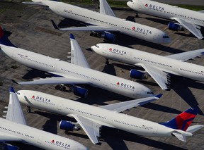 In the U.S., campaigners baulked at airlines, including Delta, that were seeking US$50 billion bailout after paying out US$45 billion to shareholders and executives in the previous five years.