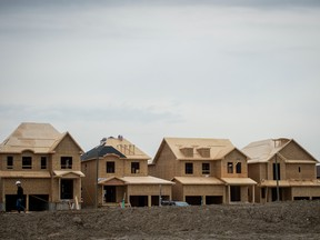 CMHC sees housing starts plummeting between 51 per cent to 75 per cent and not starting to recover until the second half of 2021.