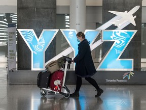 Most international flights have been cancelled and the U.S.-Canada border has been shut to most travellers since March 21.