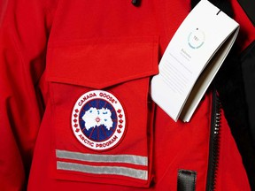 Canada Goose said shipments to department stores have been largely shutoff since March due to coronavirus-led restrictions.