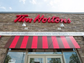 Tim Hortons said in a statement that it has discontinued its practice of tracking users' location when the app is not open.