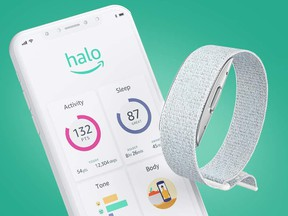 The Halo Band uses what Amazon describes as artificial intelligence software to monitor a range of personal wellness metrics, from physical activity to sleep and even mood.