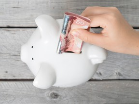 Prior to the pandemic, Canadians saved just 2-3 per cent of their disposable income, but that jumped to 28.2 per cent in the second quarter of this year.
