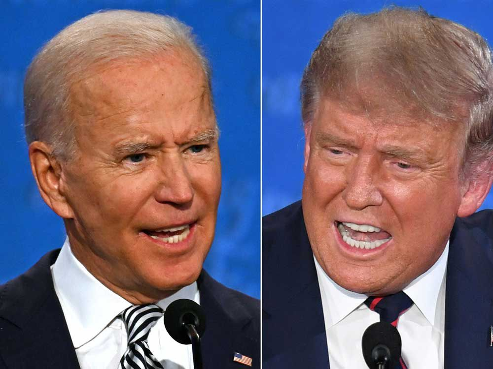 Stocks are falling around the world after Biden/Trump debate reinforces what an ugly contest this will be