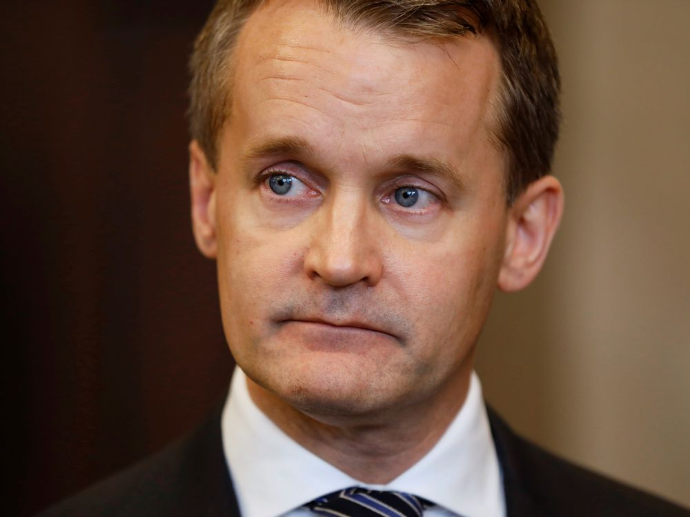 Natural Resources Minister Seamus O'Regan.