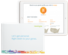 With genetic testing, a simple saliva test is provided to help you learn about yourself and further personalize your experience and recommendations.