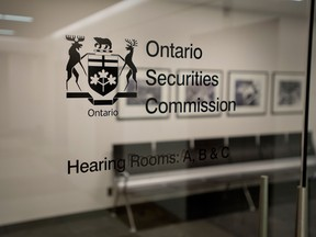 The Ontario Securities Commission in Toronto.