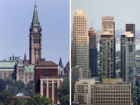 Home sales in Ottawa and Montreal are up 34% and 37% respectively, beating big city rivals like Toronto, where sales were up 25%, and Vancouver, up 29%.