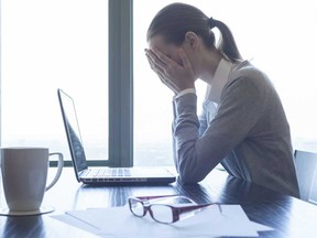 Nearly half of working Canadians say they need mental health support, the study found.
