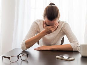 If you suffer workplace caused mental distress, seek legal advice before applying for workers' compensation benefits as a constructive dismissal would likely result in higher damages.