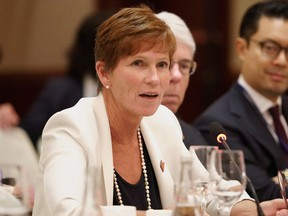 Sue Paish, the CEO of the digital supercluster, registered to lobby the federal government in July 2020.