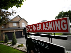 Canada's average housing prices were 46 per cent higher as of December than comparable prices in the U.S., according to a report released earlier in January by the Bank of Montreal (BMO).