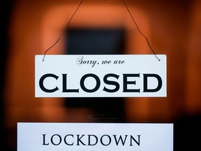 Employment in lockdown-affected industries such as retail and food services was walloped in January.