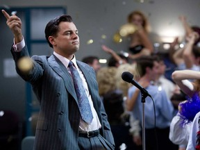 Leonardo DiCaprio plays in The Wolf of Wall Street, the 2013 movie that made pump-and-dumps schemes famous.