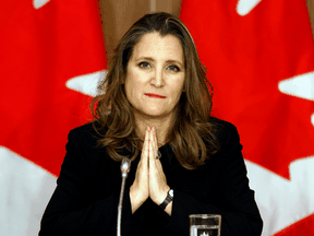 """Liberal ministers like Finance Minister Chrystia Freeland have been boasting about their contribution to sky-high household savings levels, saying they would act as """"pre-loaded stimulus"""" once COVID-19 shutdowns are over."""