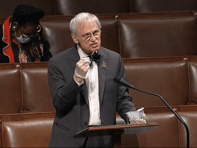 U.S. Democratic Rep. Earl Blumenauer, who is sponsoring a bill to slap an excise tax on oilsands crude to be paid into a fund for cleaning up oil spills.