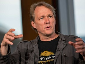 Bruce Linton, former CEO of Canopy Growth Corp.