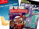 We now have three magazine covers — The Economist, Bloomberg Businessweek and MoneyWeek — talking about the Roaring Twenties.